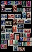 Annandeacutee 1938 Complandegravete Neufs = Cote 376 Andeuro / Lot Timbres France 372 Andagrave 418