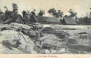Malaysia Tin Mine Overview, Buildings And Workers, Lambert Pub C 1904-14