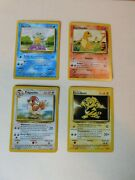 Set Of 10 Assorted Collectible 1999 Pokemon Cards