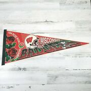 Vintage 1994 Rose Bowl Champions Wisconsin Badgers Pennant Wincraft Usa
