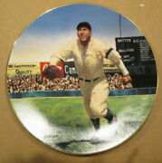Rare Tris Speaker The Bradford Exchange Collector Plate 11095a The Gray Eagle