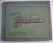 1904 Book Knollenbergand039s Souvenir Pictorial History Of The City Of Richmond Ind