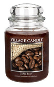 Village Candle Coffee Bean 26 Oz Glass Jar Scented Candle Large