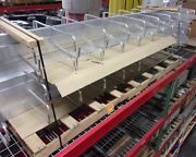 Monosystems Mono-tray Center Spine Cable Tray 12 Ft Section - Lot Of 8 Mis2904