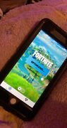 Apple Iphone 8 Plus With Fortnite- 64gb - Silver Cricket A1897 Gsm