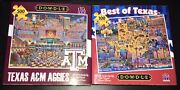 Eric Dowdle Texas Aandm Aggies Jigsaw Puzzles 500 Piece And Best Of Texas 100 Piece