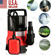 Homdox 400w Dirty Clean Water Pump| 12 Hp 2000gph Submersible Sump Pump B T E 02