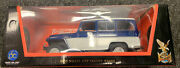 New 2003 Large Boxed Road Signature 1955 Willys Jeep Stationwagon 1/18 Scale Mib