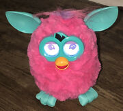 Furby---hot Pink With Digital Eyes----great Condition--tested-- Hasbro 2012