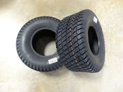 Two New 18x8.50-8 Air-loc P332 Turf Tires 6 Ply Rated W/ Free Stems Lawn Mowers