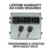 Engine Computer Programmed With Keys 2007 Lincoln Mark Lt 7l3a-12a650-cab Uaj1