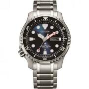 Watch Citizen Man Ny0100-50m Mechanical Analogue Only Time Titanium