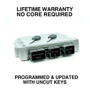 Engine Computer Programmed With Keys 2006 Ford Focus 6s4a-12a650-va Mev0 2.3l