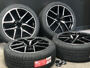 C43 Style 20x8.5/9.5 5x112 +30/+35 Black Machined Face Wheels Fit Mercedes
