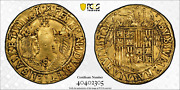 Spain Ferdinand And Isabella 1474-1504 Gold 2 Excelentes Seville Pcgs Xf Details