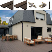 Any Sqm Composite Decking Wpc Boards Trims Edgings Fixings Clips Complete Kits