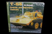 Russian Eastern Bloc T-55 Recovery Vehicles Wings And Wheels Book No 16