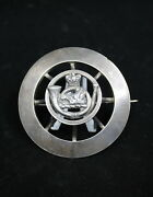 Canadian Victorian Militia Lorne Rifles Scottish Infantry Officers Plaid Brooch