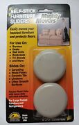 Master Manufacturing Mighty Mite Furniture Sliders 4 Pack 87003