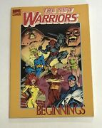The New Warriors Beginnings Tpb 1-4 And Thor 411 And 412 Marvel First Printing