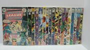Justice League Of America Collection W/keys 18 Issues