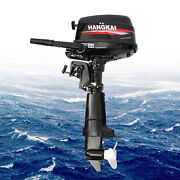 6.5hp/4-stroke Outboard Motor Short Shaft Boat Engine W/ Water-cooling 123cc Us