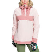 Roxy Shelter Womens Jacket Snow - Silver Pink All Sizes