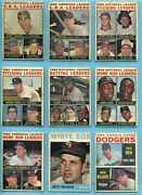 1964 Topps Partial Set Lot Of 318 Different Baseball Cards Low Grade - Ex/mt