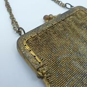 Antique Evening Bag Purse 1920s Beaded Deco Mandalian Made In France