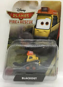 2014 Disney Planes Fire And Rescue Smokejumper Blackout Diecast Toy 8
