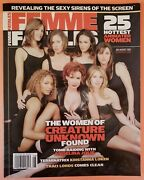 Femme Fatales Vol. 12 3 Vf/nm July August 2003 Women Of Creature Unknown 3b