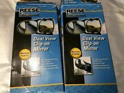 Reese Towpower Clip On Towing Mirror Set Of 2 Used Excellent Condition