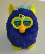Furby Boom Electronic Toy Tiger 2013 Hasbro Purple And Yellow Tested