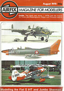 Airfix August 1978 Two Great New Series / Mtbs And Czarist Air Force
