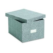 Oxford 40591 Reinforced Board Card File Lift-off Cover Holds 1200 6 X 9 Ca...