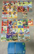 Leap Pad Leap Frog Learning System 16 Book/cartridges And 16 Book Only