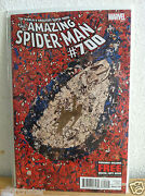 Amazing Spiderman 700 Dynamic Exclusive Signed Stan Lee 41/75 Death Of Peter