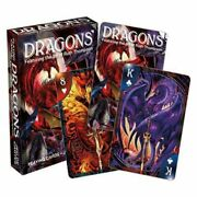 Aquarius Officially Licensed Ruth Thompson Dragons Designed Fun Playing Cards