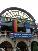 Photo The Main Entrance To Europa Park In Rust Germany.