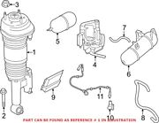 Genuine Oem Rear Right Shock Absorber For Bmw 37106874594