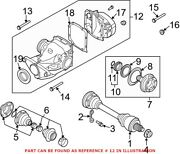 Genuine Oem Differential For Bmw 33107560604