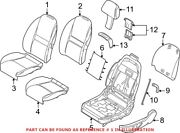 Genuine Oem Seat Back Cover For Bmw 52107027249