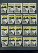 20 Vintage 1933 Chemical Industries Expo Poster Stamps L611 Nyc New York