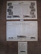 39 Original Overland Ads From1911-1916 For 145. See Individual Years W/ Photos