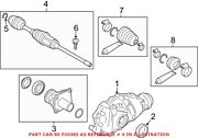 Genuine Oem Front Left Cv Axle Assembly For Bmw 31608683331