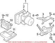 Genuine Oem Abs Hydraulic Assembly For Bmw 34502460423