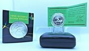 1992 1 Proof Olympic Silver Dollar Barcelona Women In Sport Collectable Coin