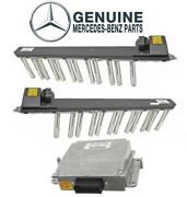 Genuine Left And Right Ignition Coils And Voltage Transformer For Mercedes C215 W220