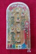 Vintage Marx Toys Pinball Game Toy - Hand Held / Pocket
