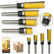 Flush Trim Router Bits Top Bearing 1/4 Inch 8mm Shank Straight Template Pattern